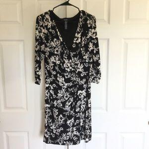 Chaps wrap dress L